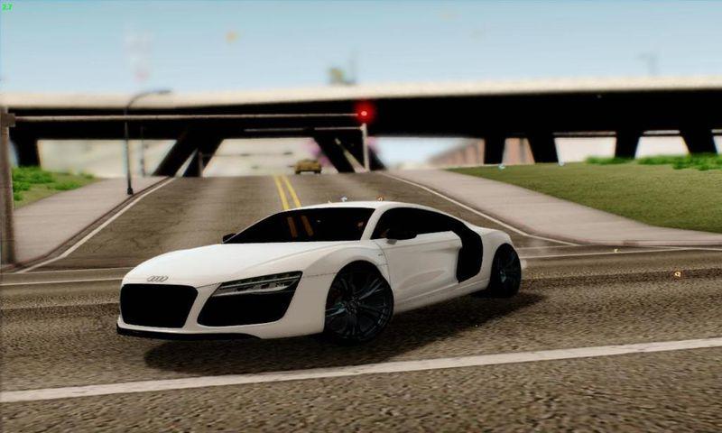 Gta San Andreas 2013 Audi R8 V10 Plus 52 Fsi Mod Gtainside