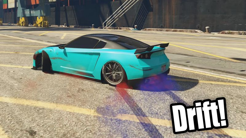 Gta Real Drift Wheelie James Bond Handling Mod Mod