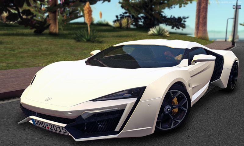 GTA San Andreas 2014 Lykan Hypersport Mod - GTAinside com