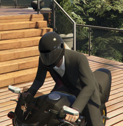 Gta 5 Always Black Helmet On Motorcycles Mod Gtainside Com