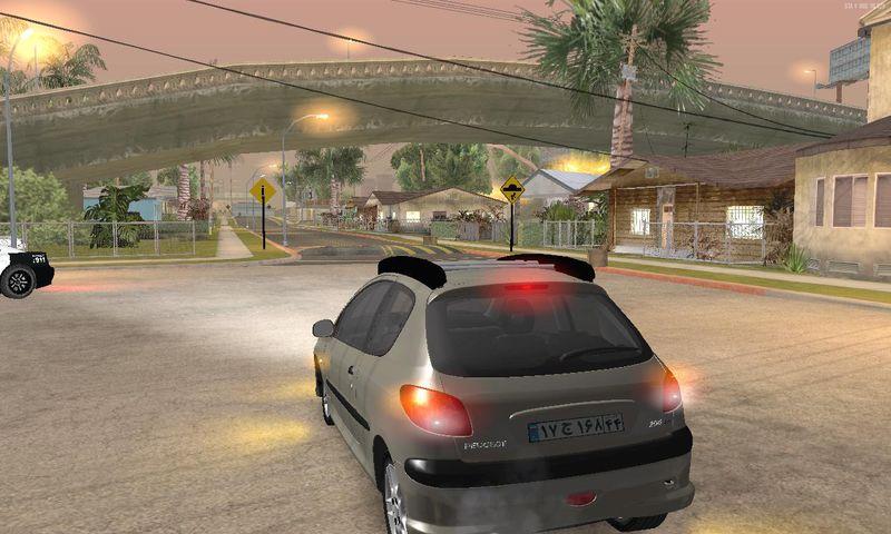 GTA San Andreas Peugeot 206 Mod - GTAinside com