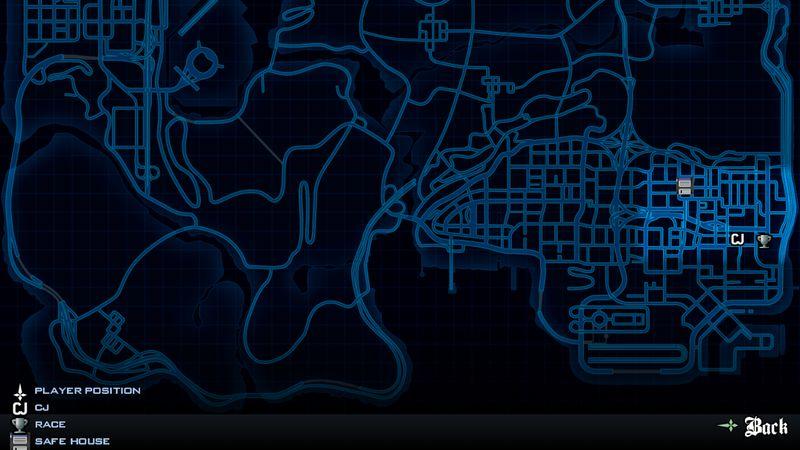 GTA San Andreas Radar Need For Speed World Bonus For Android Mod - I need a world map