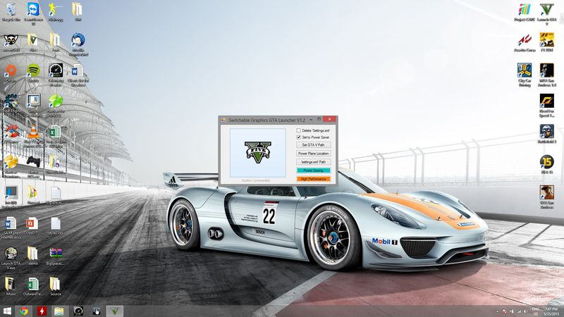 GTA 5 GTA V Switchable Graphics Launcher Mod - GTAinside com