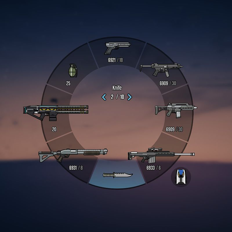 GTA 5 Colored Weapon Icons 1.0 Mod