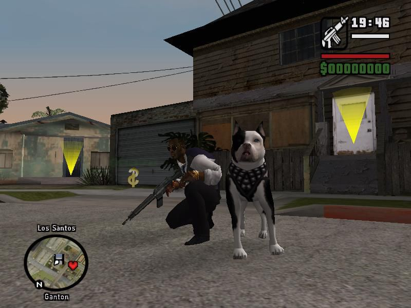 Gta San Andreas New Dog Mod Mod Gtainside Com