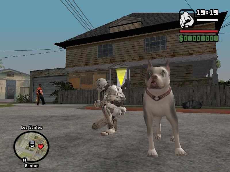 GTA San Andreas New Dog Mod Mod - GTAinside com