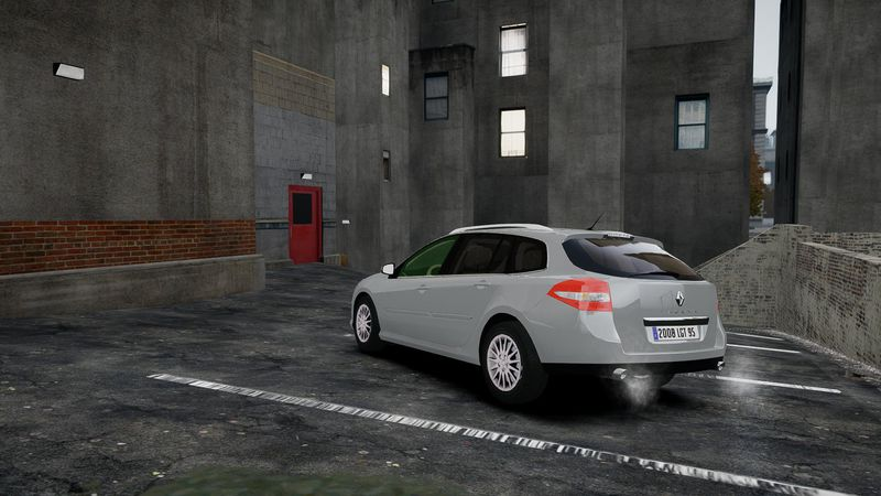 gta 4 renault laguna iii 1 estate mod. Black Bedroom Furniture Sets. Home Design Ideas