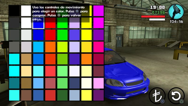 GTA San Andreas New & More Colors for all Vehicles for