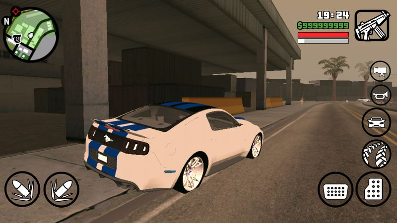 GTA San Andreas 2014 NEED FOR SPEED MUSTANG BETA for Android