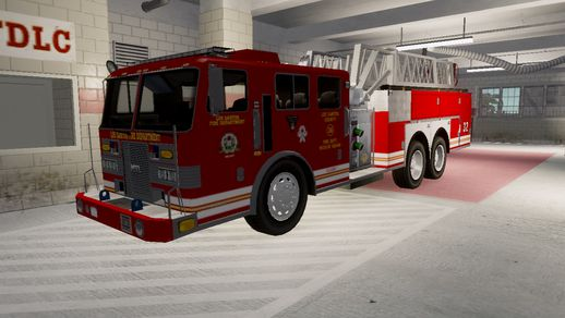 Los Santos Fire Department Livery for MTL MDH 1000