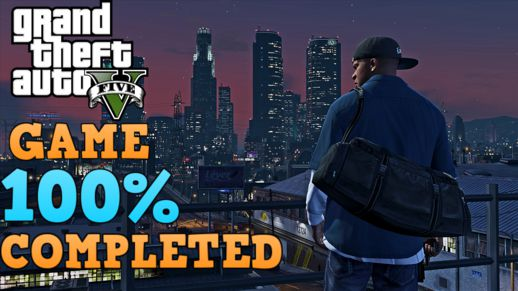 GTA V - Save Game 100% Game Completed