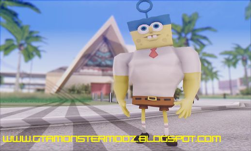 Spongebob as Mr.Invincibubble