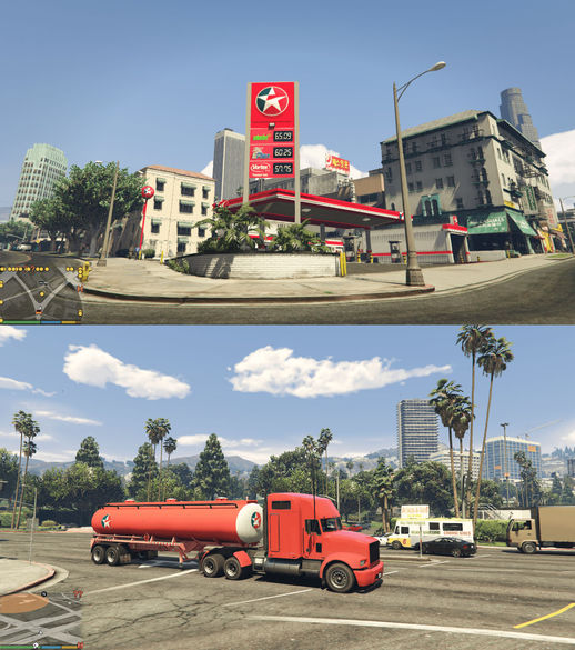 Shell, BP, Caltex Petrol Stations + Gas Tank Trailers V3.2 (FIXED)