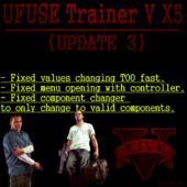 UFUSE Trainer V X5 + L.S Customs Menu (Update: Final Release)