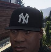 Black New Era NY Yankees Hat for Franklin