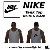 Nike Tank Top White Black