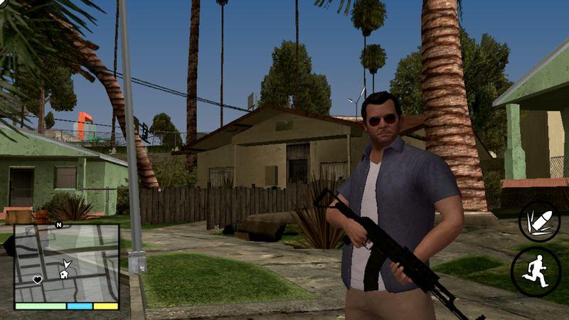 GTA San Andreas GTA V HUD GTA SA Android v1 0 Mod