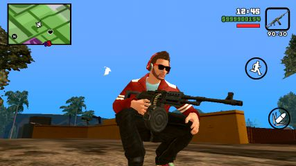 GTA San Andreas GTA V Weapons For Android V2 0 Mod