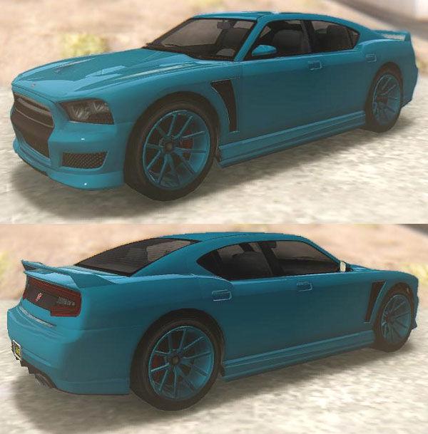GTA San Andreas GTA V Bravado Buffalo S Sprunk Mod