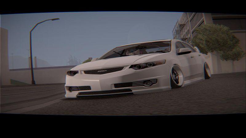 GTA San Andreas Acura TSX Hellaflush Mod GTAinsidecom - Acura tsx mods