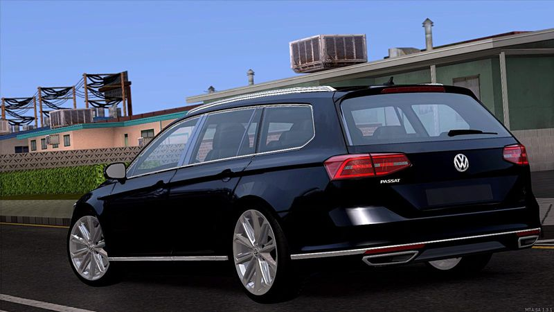 gta san andreas volkswagen passat variant r line mod. Black Bedroom Furniture Sets. Home Design Ideas