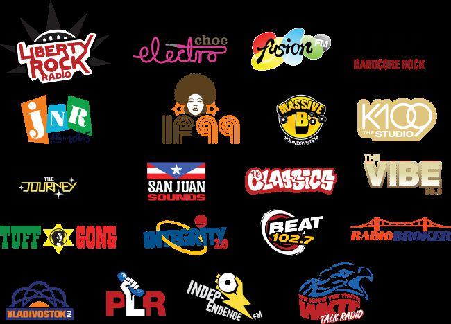 gta 4 gta iv radio station logos mod - gtainside