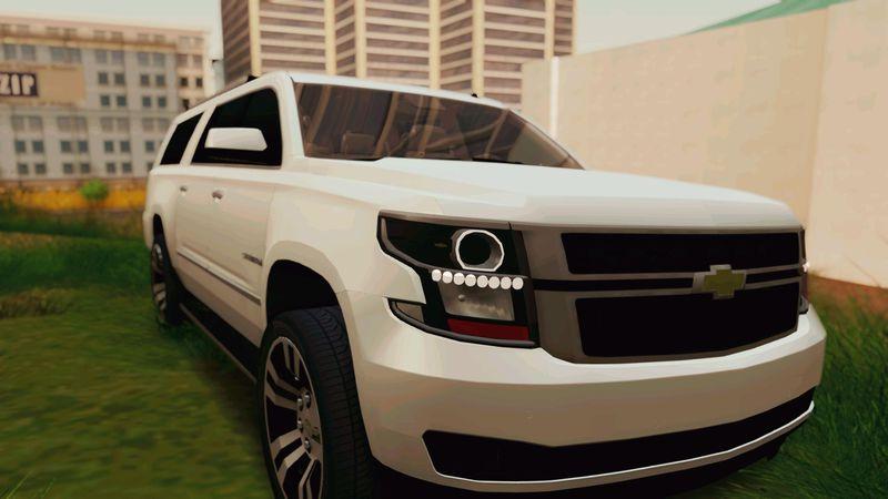 GTA San Andreas Chevrolet Suburban 2015 Mod - GTAinside.com