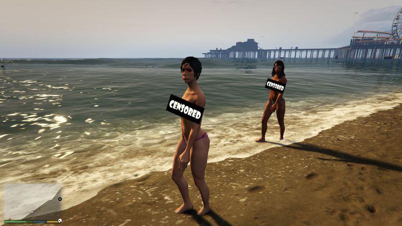 Bikini at the pool