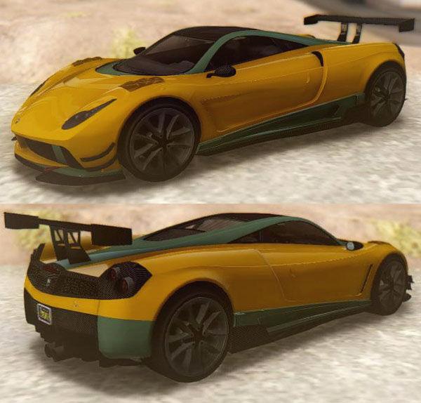 GTA San Andreas GTA V Pegassi Osiris Mod
