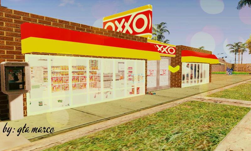 GTA San Andreas OXXO Open Shop Mod - GTAinside com