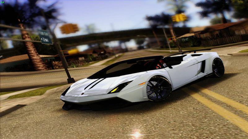 Gta San Andreas 2012 Lamborghini Gallardo Lp570 4 Spyder Performante