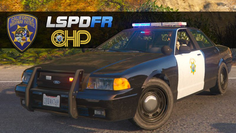 GTA 5 California Highway Patrol Skin Livery for Vapid