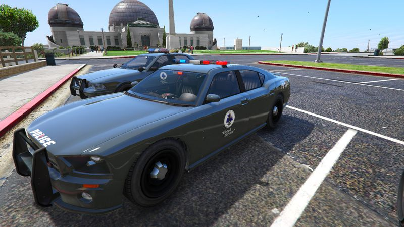 GTA 5 Police Cars - Dark Theme Mod - GTAinside.com