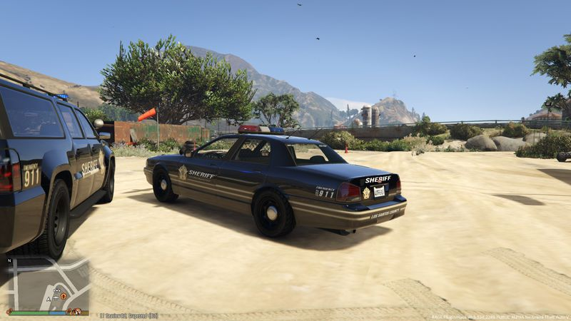 GTA 5 Sheriff Black Style Cruiser and SUV Mod - GTAinside com