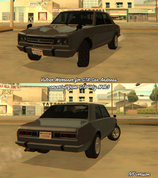 GTA V Vulcar Warrener