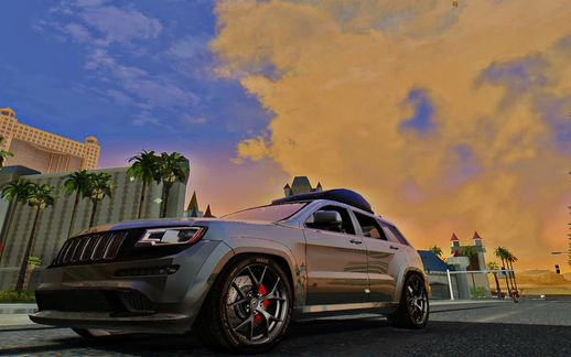 Jeep Grand Cherokee SRT8 All black