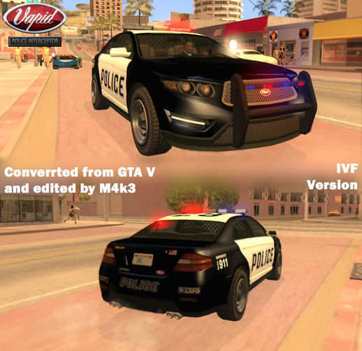 GTA V Vapid Police Interceptor V2