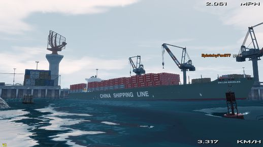 World's biggest container ship 1.0