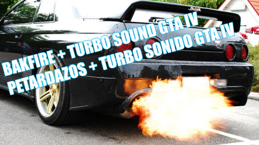 Backfire Sound Mod + Turbo