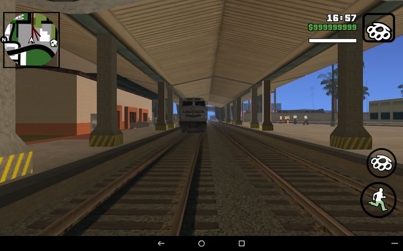 GTA San Andreas Unity Station Mod for Android Mod