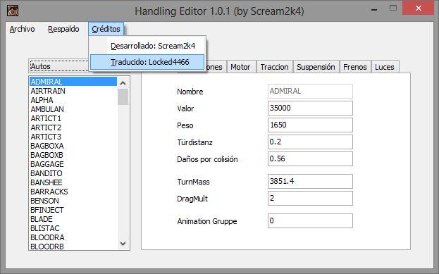 programa editeur handling gta san andreas v2.0