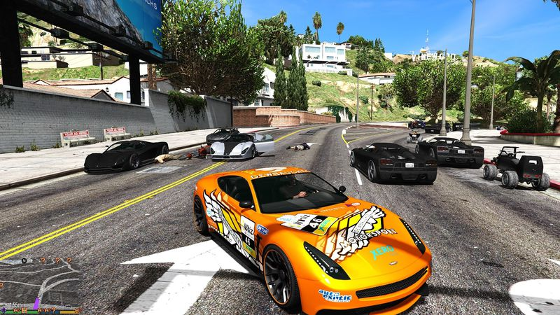 GTA V Extreme Vehicles Traffic V1.1