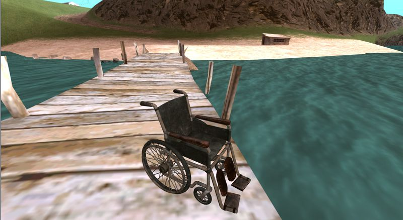 GTA San Andreas Wheelchair from Silent Hill Downpour Mod