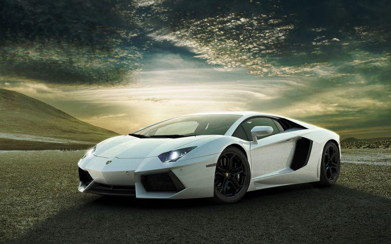 Lamborghini car sounds