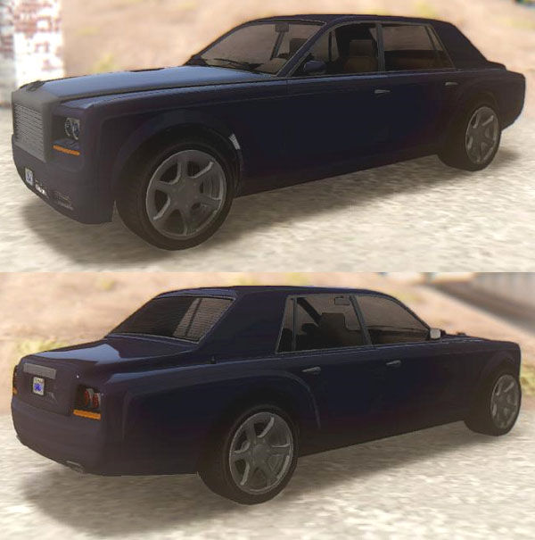 GTA San Andreas GTA V Enus Super Diamond Mod - GTAinside.com