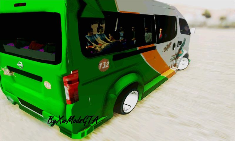"GTA San Andreas Nissan NV350 Urvan ""Leonardo"" Autobuses ..."