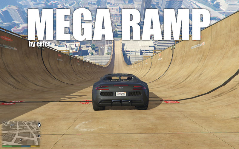 GTA 5 Mega Ramp (simple trainer fix need to load correctly