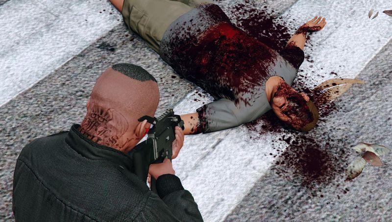 GTA 5 Raider's Blood, Violence & Ragdoll Overhaul Mod