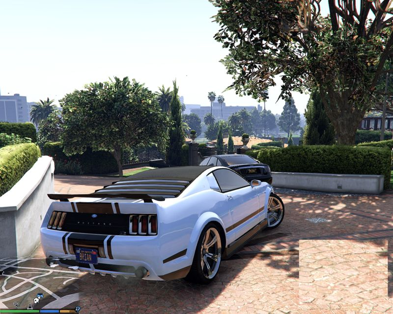 Gta 5 Ford Mustang Simple No Livery Dominator Mod Gtainsiderhgtainside: Ford Mustang Gta 5 Location At Gmaili.net