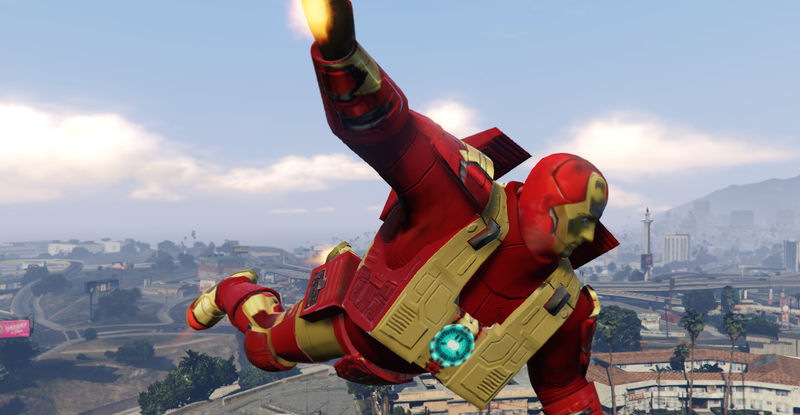 мод Iron Man для Gta 5 скачать - фото 6
